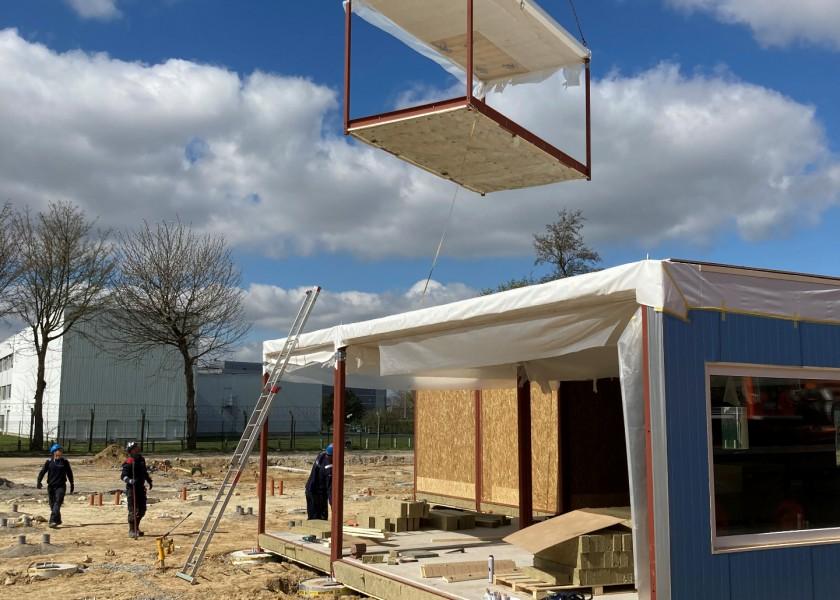 Abscis Architecten - prefab klascontainers