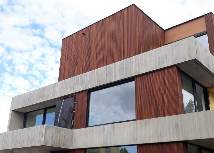 Abscis Architecten - urban villa, Wisselkouter (voormalige tramstelplaats) Merelbeke